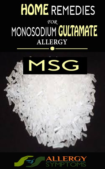 Monosodium Glutamate Allergy