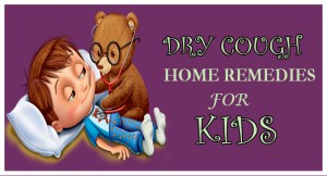 Dry Cough Home Remedies for Kids FB