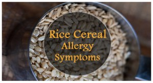 Rice Cereal Allergy Symptoms fb