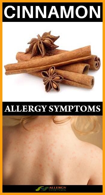 Cinnamon Allergy Symptoms