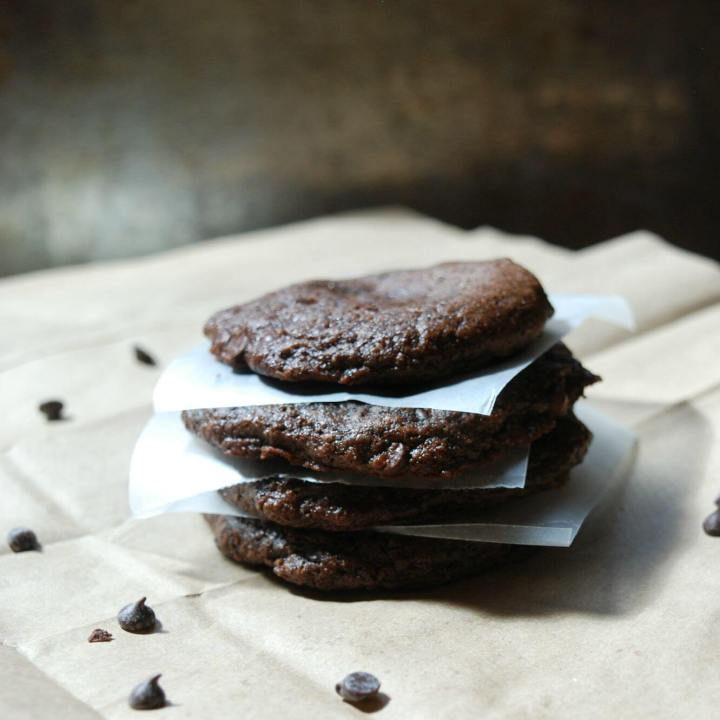 Double Choco Chip Cookies (Vegan, GF, Top 8 Free)