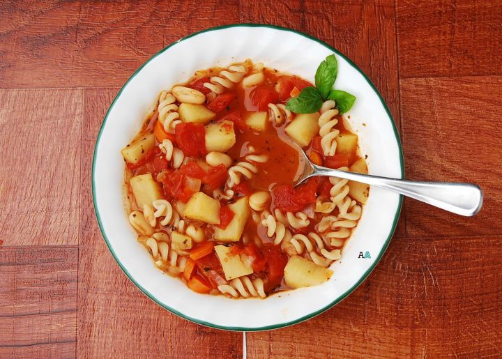 Minestrone (GF, DF, Vegan, Top 8 Free)--Allergy Awesomeness