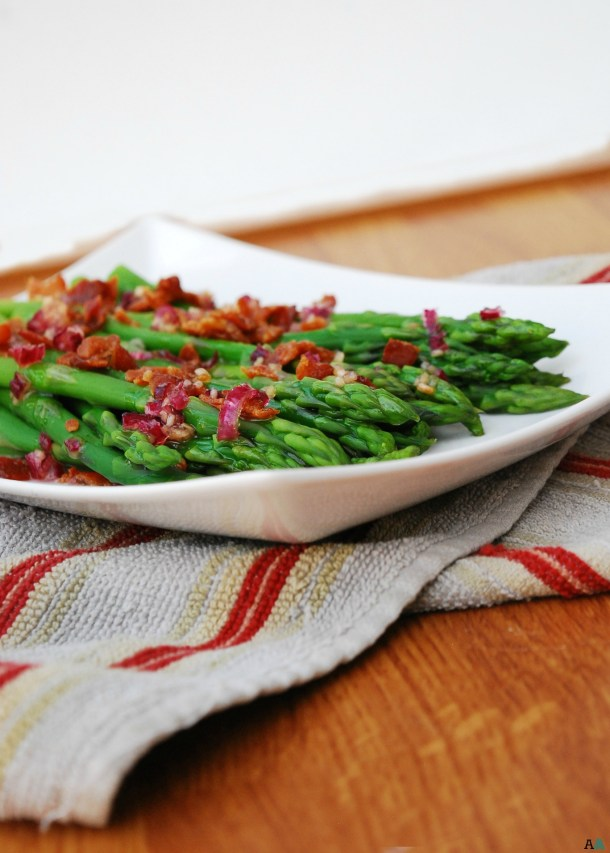 The best asparagus with bacon