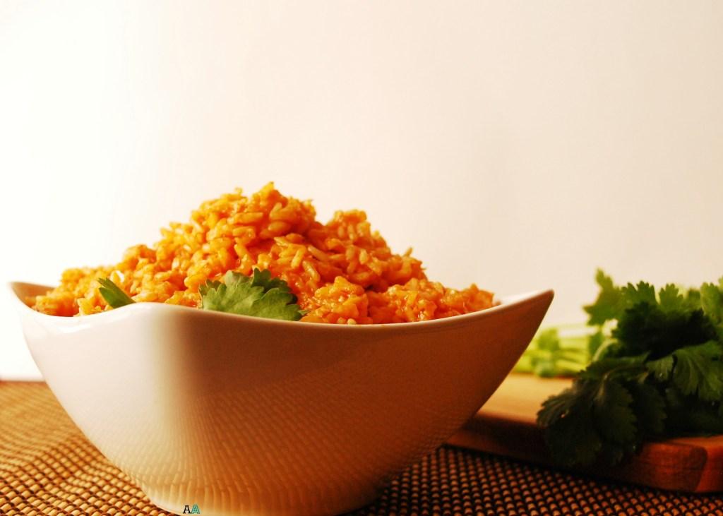 Spanish Rice (GF, DF, Soy, Peanut/Tree Nut Free, Top 8 Free, Vegan Option) by Allergy Awesomeness