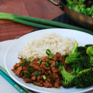 Gluten Free 30 Minute Korean Chicken and Broccoli (Top 8 Free Too!)