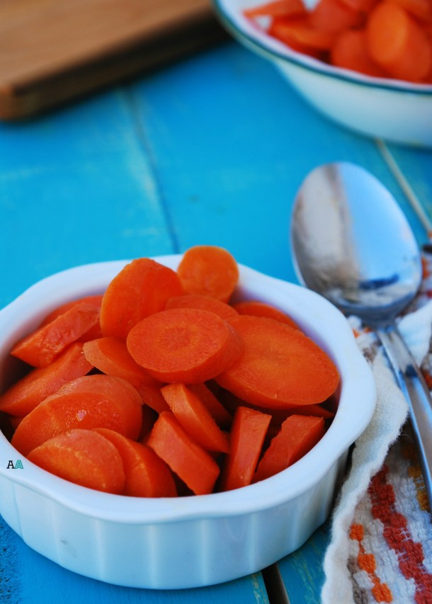 Laziest Side Ever: 5 Minute Honey Carrots (GF, DF, Egg, Soy, Peanut/Tree nut Free, Top 8 Free, Vegan, Paleo) by Allergy Awesomeness