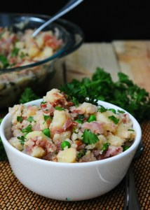 German Potato Salad (GF, DF, Egg, Soy, Peanut/Tree nut Free, Top 8 Free, Vegan Option) Recipe by Allergy Awesomeness