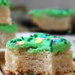 "Sugar Cookie Bars with ""Buttercream"" Frosting (GF, DF, Egg, Soy, Peanut/Tree nut Free, Top 8 Free, Vegan) Recipe by Allergy Awesomeness"