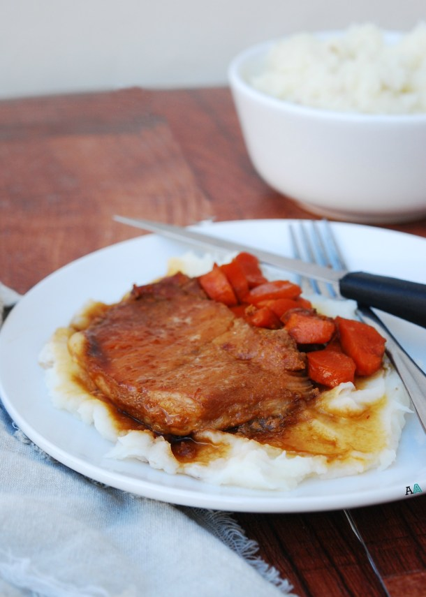 Slow Cooker San Francisco Pork Chops by Allergy Awesomeness