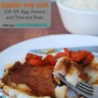 Slow Cooker San Francisco Pork Chops (GF, DF, Egg, Peanut, Tree nut Free)