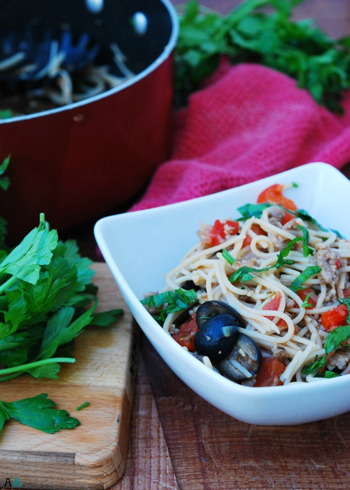30 Minute Sauge and Peppers Pasta (GF, DF, Egg, Soy, Peanut, Tree nut Free, Top 8 Free) Recipe by Allergy Awesomeness