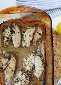 Lemon Garlic Tilapia (GF, DF, Egg, Soy, Peanut, Tree nut Free) Recipe by AllergyAwesomeness.com