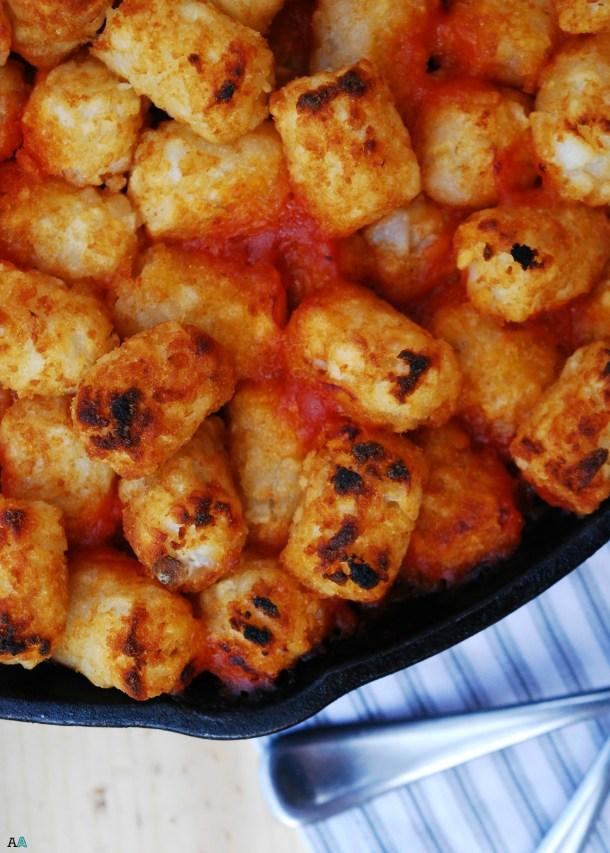 Skillet Slopey Joe Casserole (GF, DF, Egg, Peanut, Tree Nut Free) A one pot dinner recipe by Allergy Awesomeness