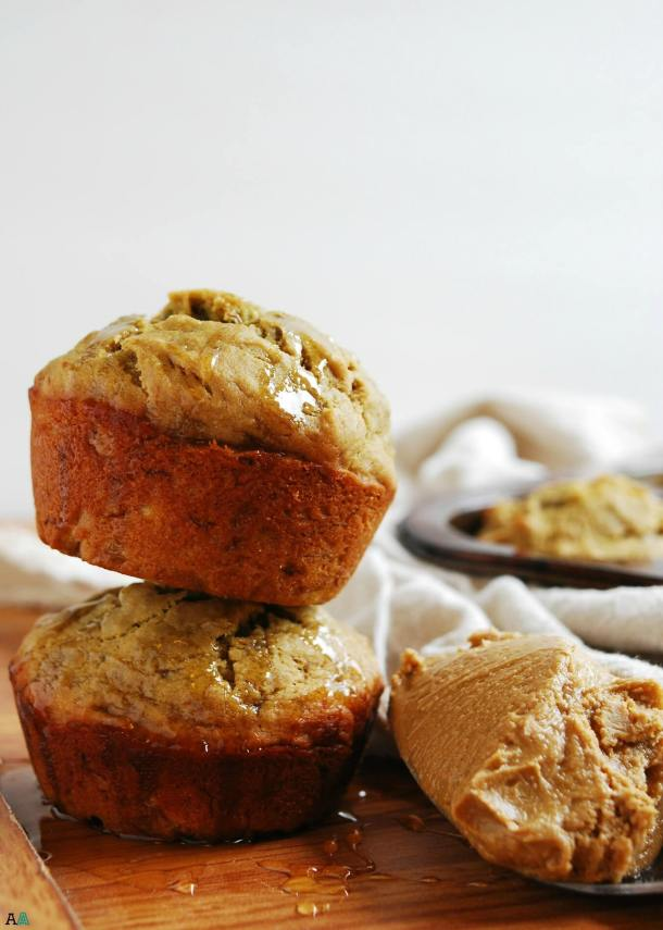 Sunbutter, Honey & Banana Muffins (GF, DF, Egg, Soy, Peanut, Tree nut Free, Top 8 Free, Refined Sugar Free, Vegan) Recipe by Allergy Awesomeness