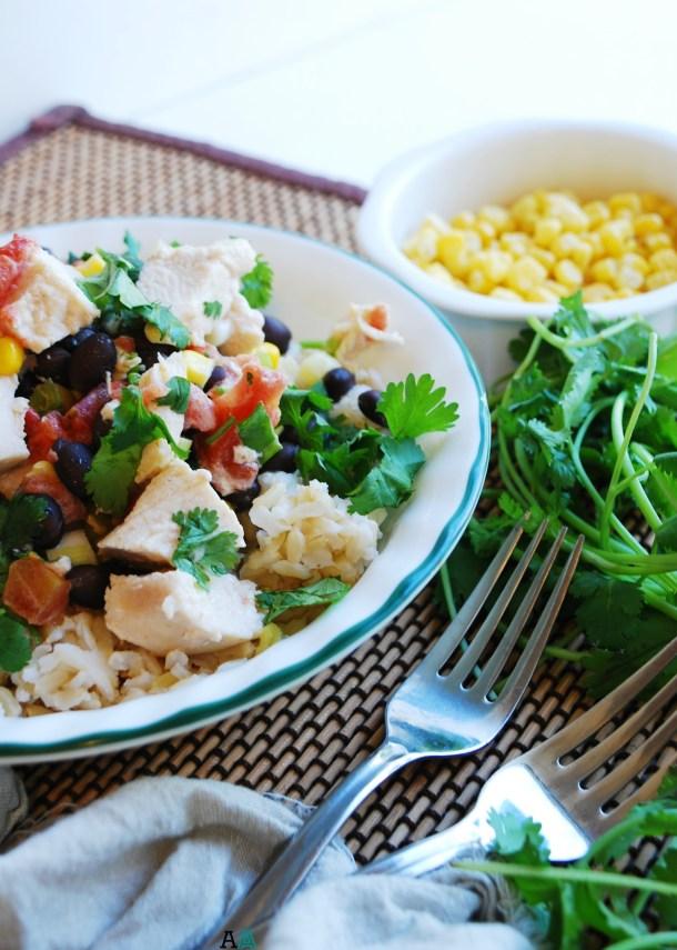 Slow Cooker Sante Fe Chicken (GF, DF, Egg, Peanut, Tree nut Free) Dinner Recipe by AllergyAwesomeness.com