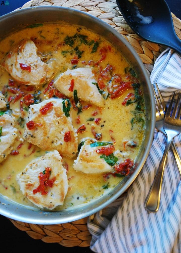Dairy-Free Tuscan Chicken Recipe by AllergyAwesomeness