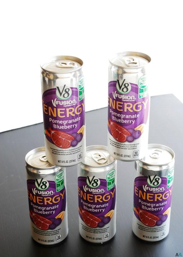 V8 + Energy on AllergyAwesomeness.com AD