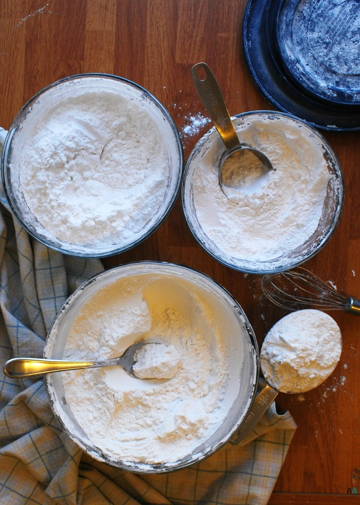 The BEST Homemade Gluten-free Flour Mix (Gluten, dairy, egg, soy, peanut and tree nut free; top 8 free; vegan) Recipe by AllergyAwesomeness.com