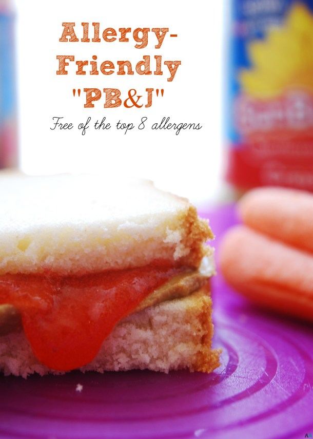 Allergy-Friendly Peanut Butter and Jelly Recipe by AllergyAwesomeness.com