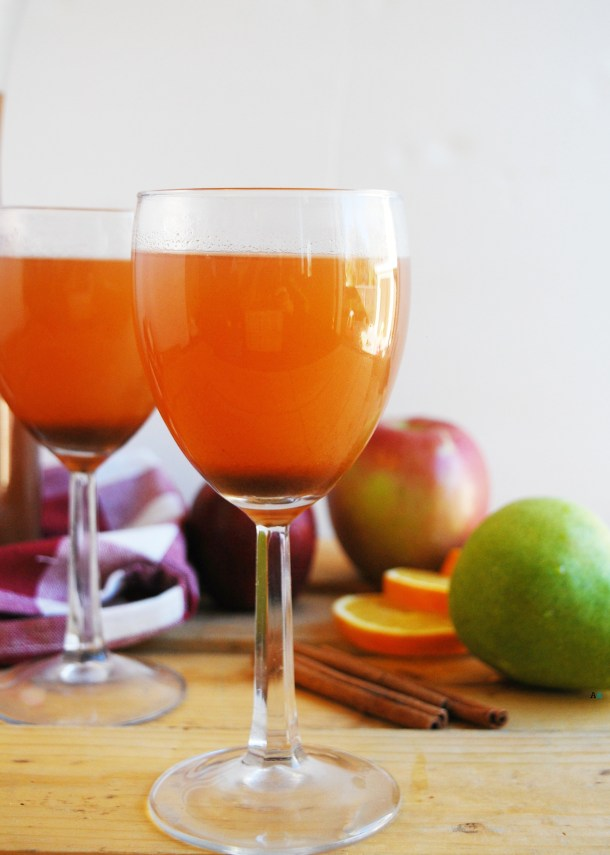Slow Cooker Apple Pear Cider (Gluten, dairy, egg, soy, peanut & tree nut free; top 8 free; vegan) Drink recipe by AllergyAwesomeness.com