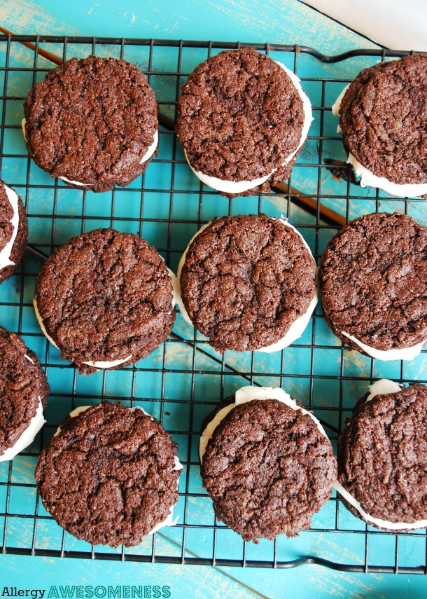 Allergy-friendly Homemade Oreo Recipe by AllergyAwesomeness.com