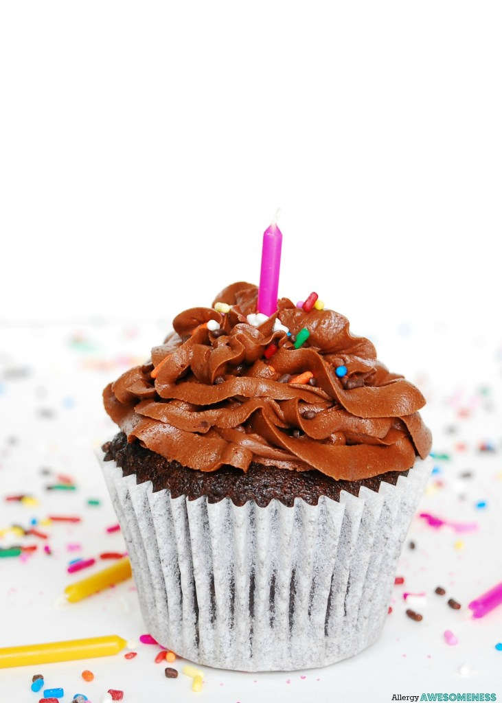 The Best Allergy Friendly Chocolate Birthday Cupcakes Gluten Dairy