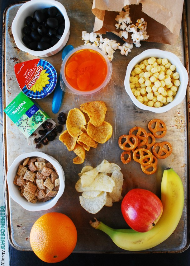 Easy to find, store-bought allergy friendly snacks by AllergyAwesomeness