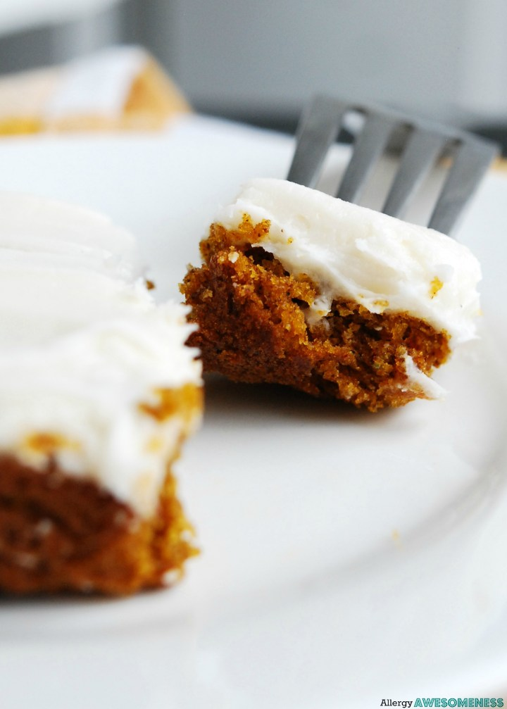 Gluten-free Vegan Carrot Sheet Cake