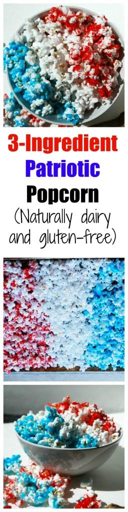 3-Ingredient Patriotic Popcorn