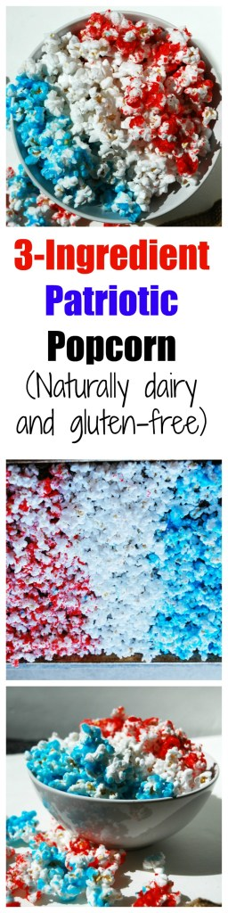3-Ingredient Patriotic Popcorn
