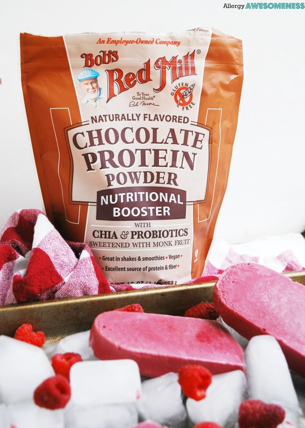 Bob's Red Mill Chocolate Protein Popsicles