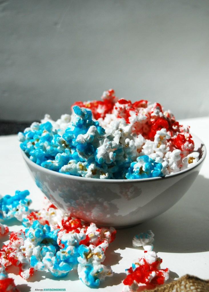 Red, White & Blue Popcorn Recipe