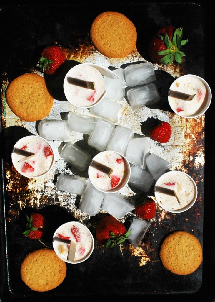 Gluten-free Strawberry Pie Ice Cream Recipe