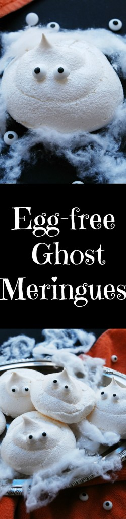 Egg-free Ghost Meringues Recipe by Allergy Awesomeness
