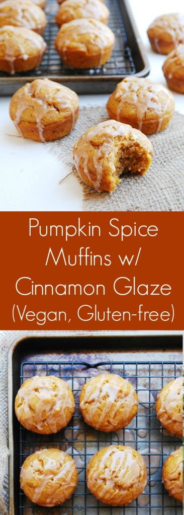 Vegan and Gluten-free Pumpkin Spice Muffins Recipe