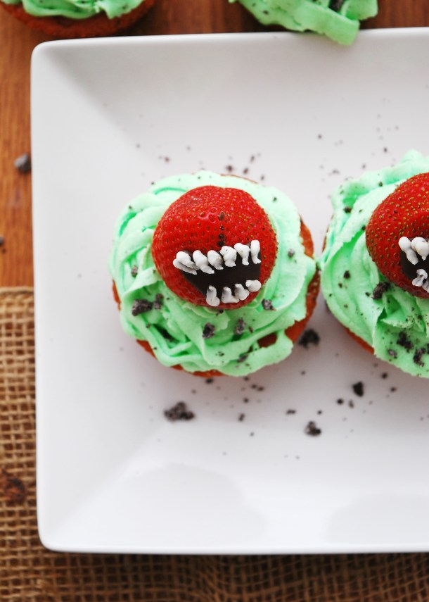 Allergy-friendly Halloween cupcakes