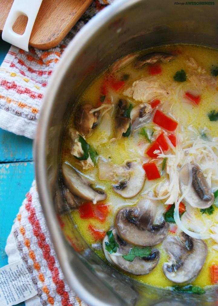 Allergy-friendly Thai Coconut Soup
