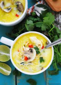 Gluten-free Thai Coconut SOup