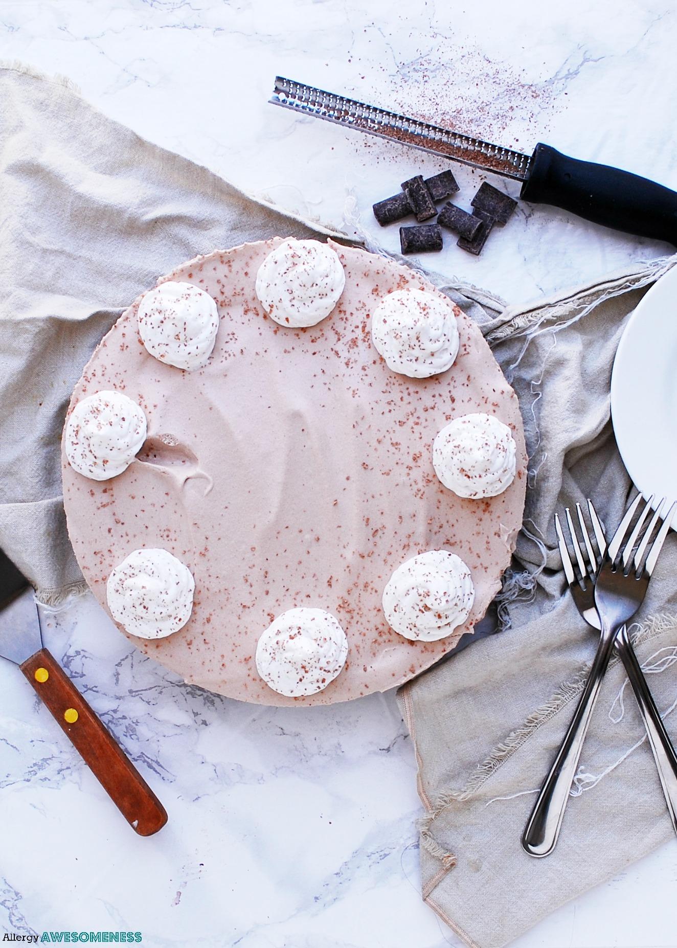 Gluten-free chocolate pie