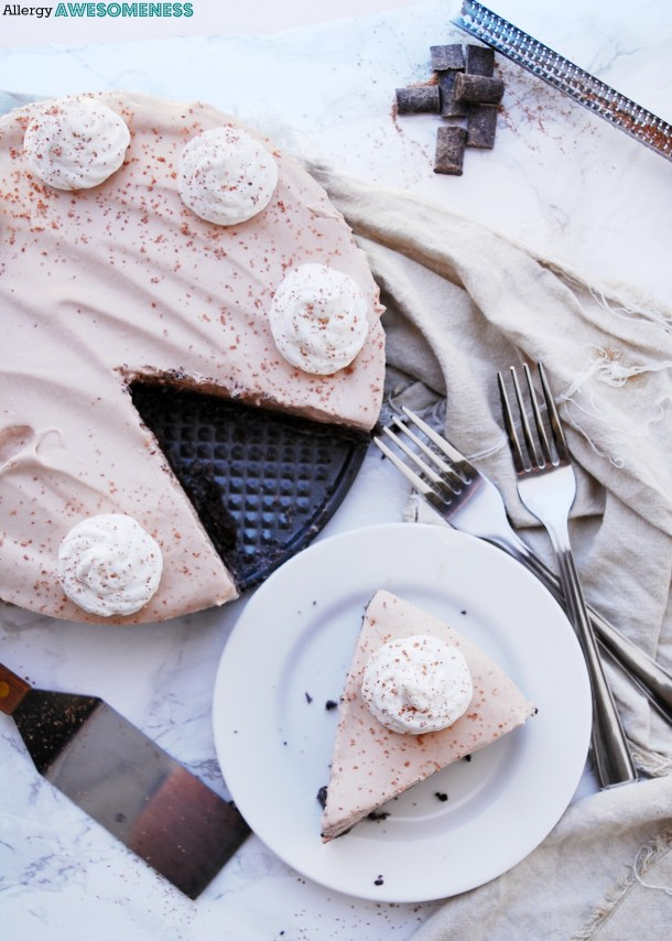 allergy-friendly chocolate pie
