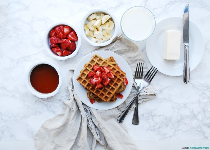 Allergy-friendly SunButter Waffles