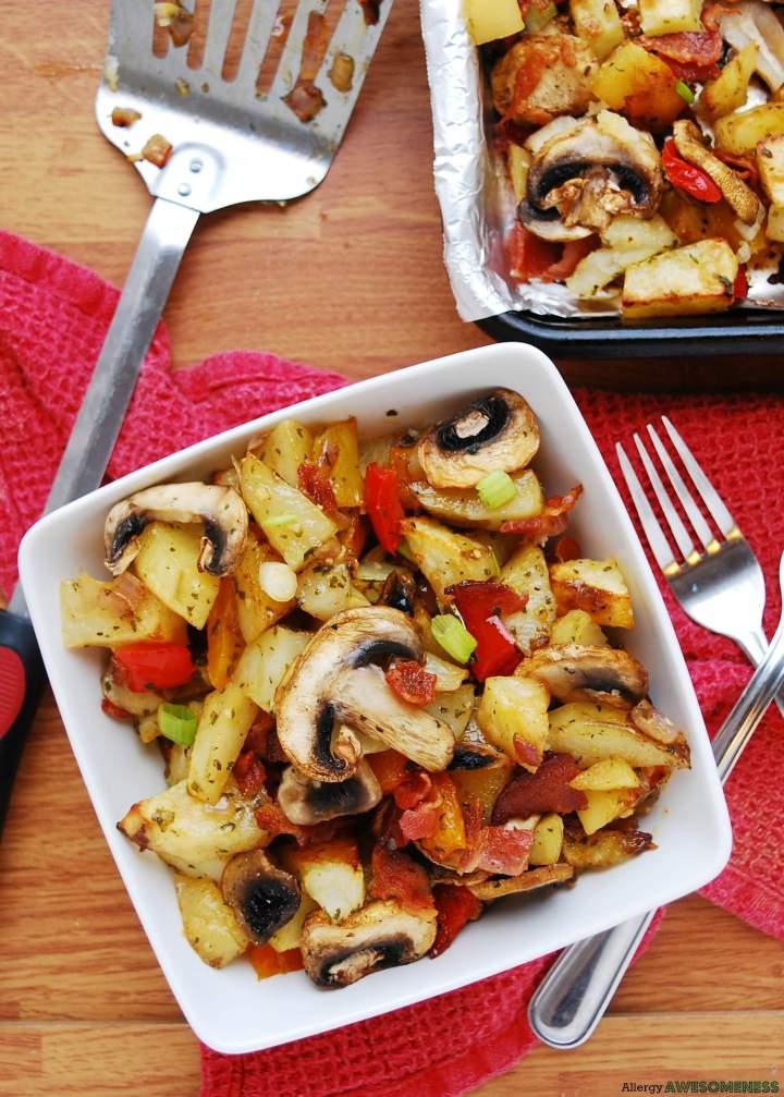 how to make oven breakfast potatoes