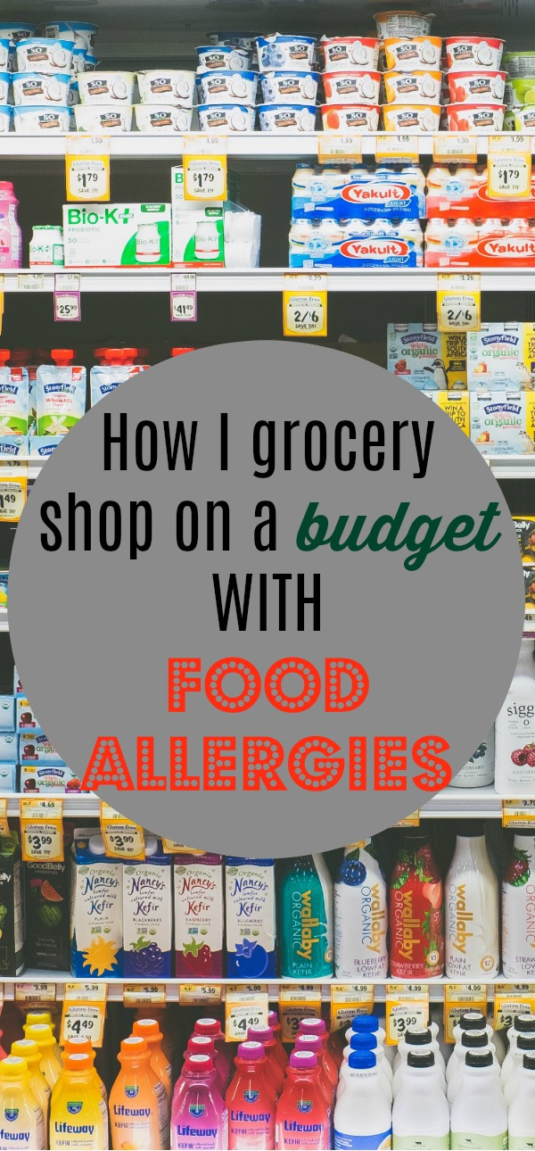 How I grocery shop on a budget with food allergies