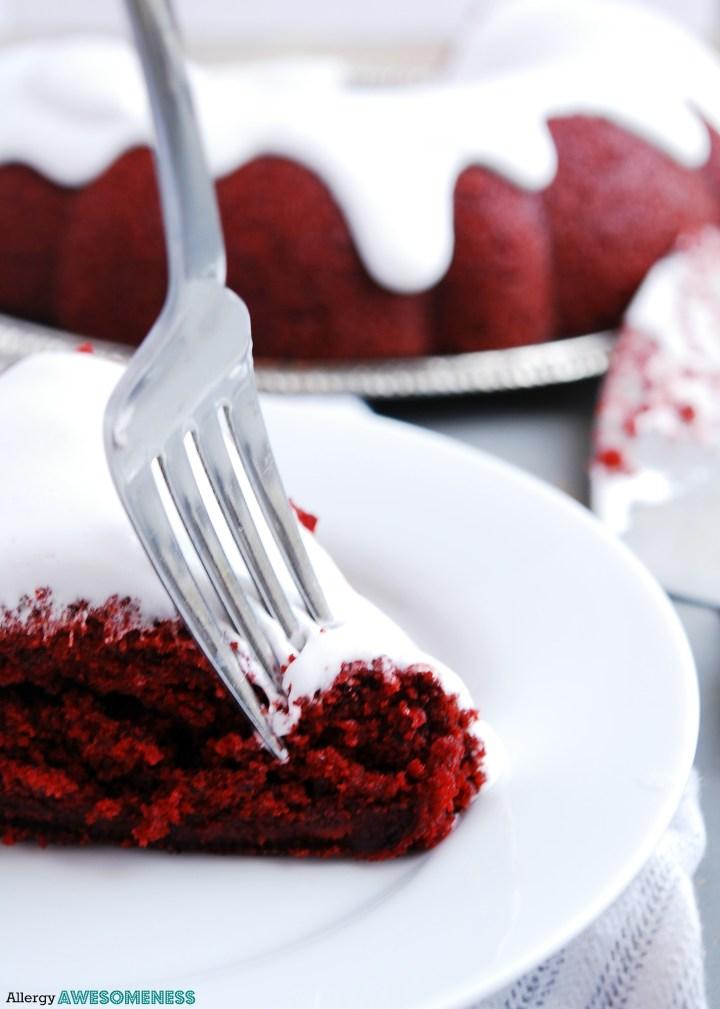 vegan red velvet bundt cake recipe