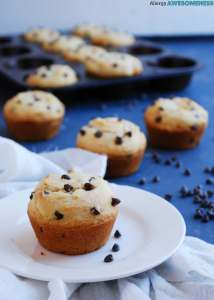 chocolate-chip-muffins-without-eggs