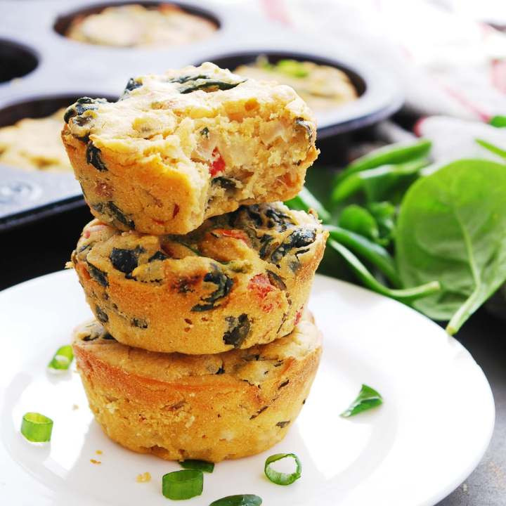 Egg-free & Dairy-free Frittata Cups