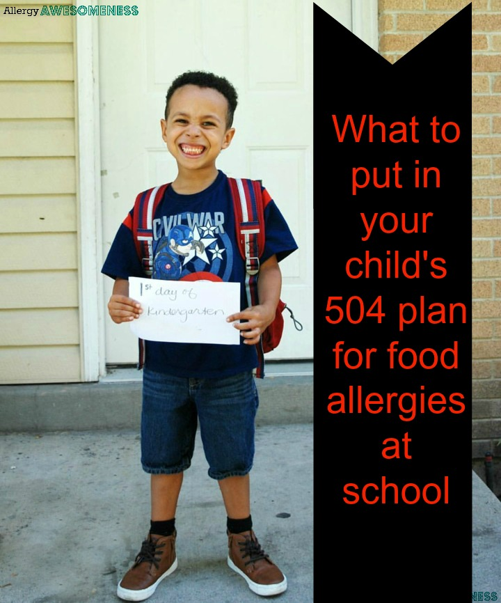 Idea And Kids With Special Dietary Needs >> What To Put In Your Child S 504 Plan For Their Food
