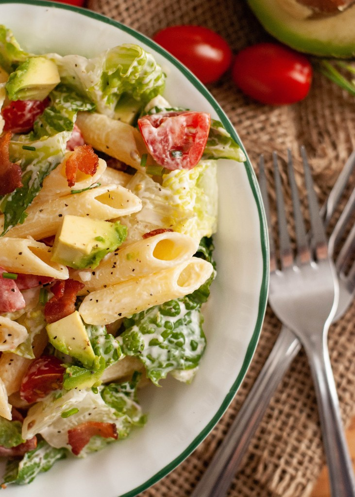 gluten-free-dairy-free-BLT-pasta-salad