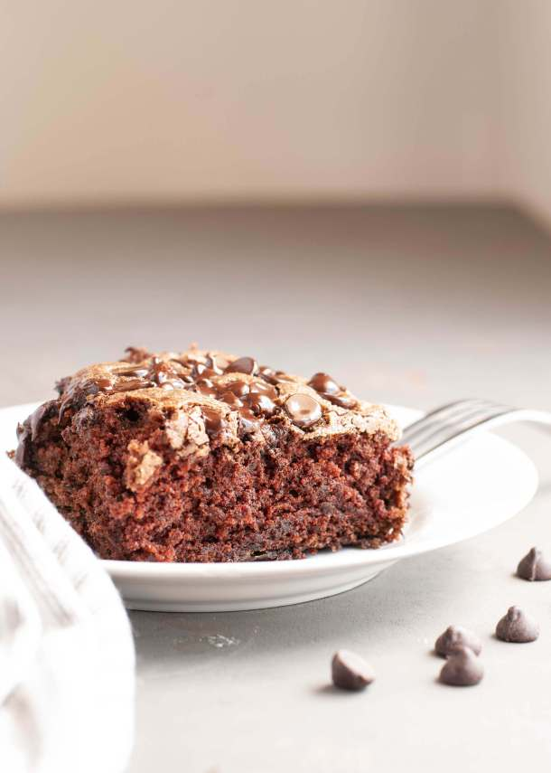 gluten free vegan chocolate zucchini cake top 8 free too
