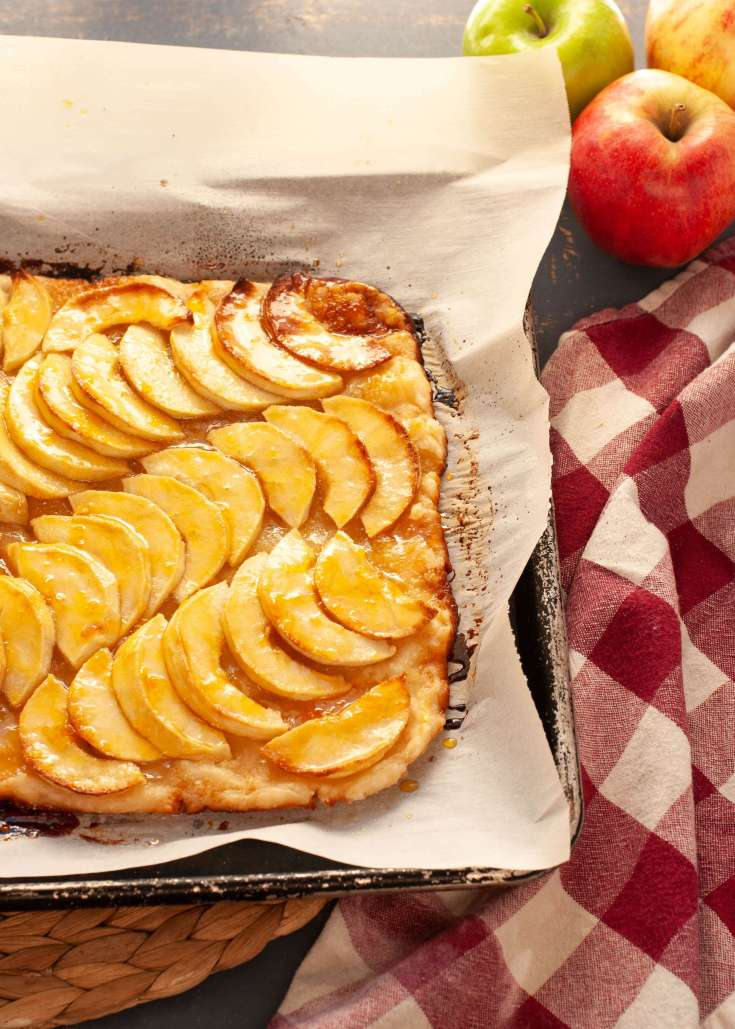 Ina Garten's French Apple Tart Made Gluten-free & Vegan (Top 8 free too!)